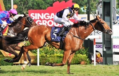 No doubts about this Group 1 victory