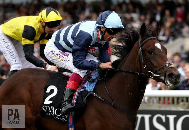Redoute's Choice filly scores at Newmarket