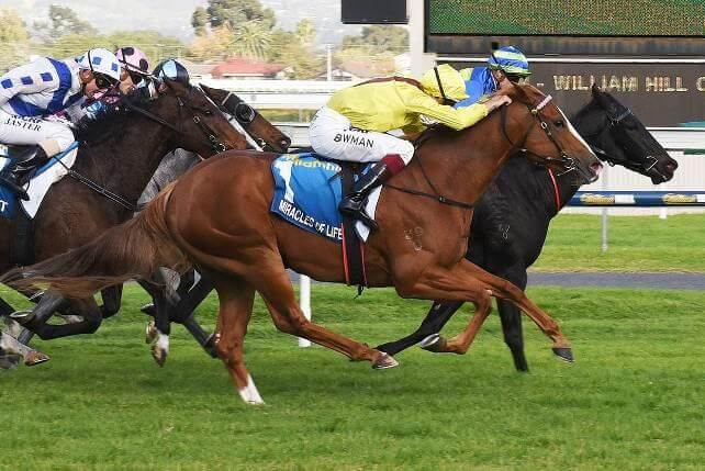 Second Group 1 victory for Miracles of Life