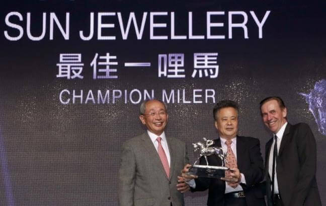 Sun Jewellery named Hong Kong's Champion Miler