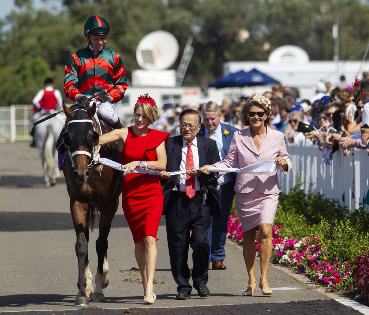 The Autumn Sun triumphs in Rosehill Guineas